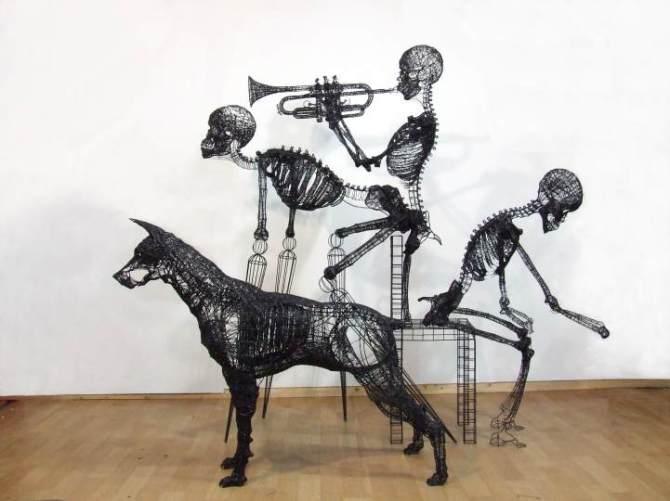 wire-sculptures